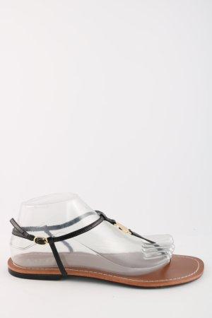 Ralph Lauren T-Strap Sandals black casual look