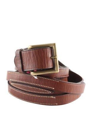 Ralph Lauren Cinturón pélvico marrón estilo «business»