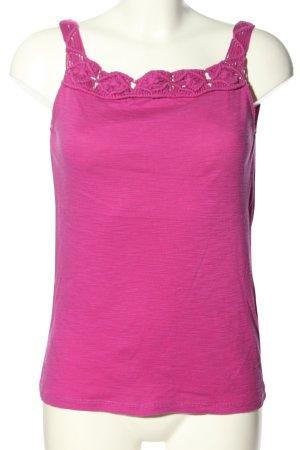 Ralph Lauren Canotta rosa puntinato stile casual
