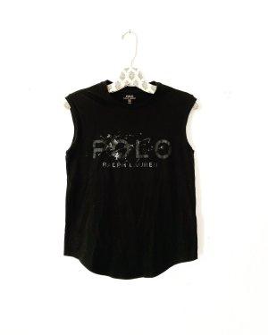 ralph lauren • tanktop • shirt • schwarz • polo