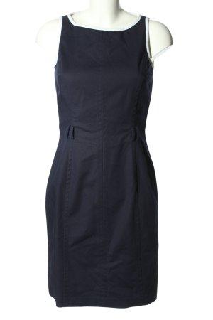 Ralph Lauren Trägerkleid blau Business-Look
