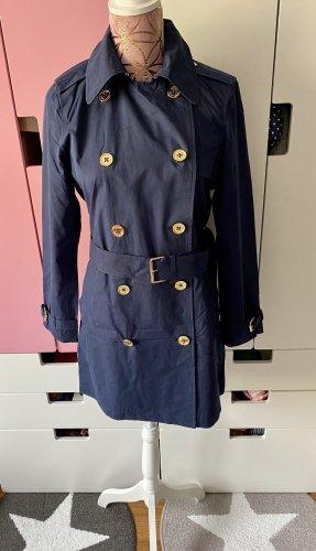 Ralph Lauren Trenchcoat dunkelblau Größe S