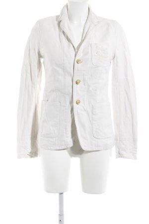 Ralph Lauren Tweedblazer hellbeige klassischer Stil