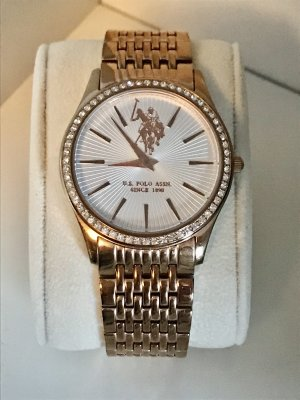 Ralph Lauren Analog Watch white-rose-gold-coloured
