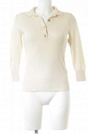 Ralph Lauren V-Ausschnitt-Pullover creme Elegant