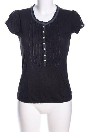 Ralph Lauren U-Boot-Shirt schwarz Casual-Look