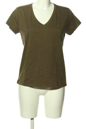 Ralph Lauren V-Ausschnitt-Shirt khaki Casual-Look