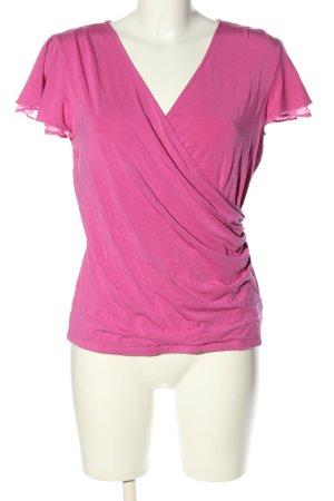 Ralph Lauren V-Ausschnitt-Shirt pink Casual-Look