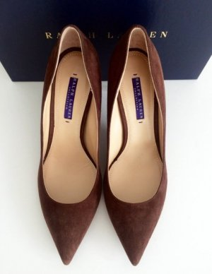 Ralph Lauren Veloursleder Pumps NEU