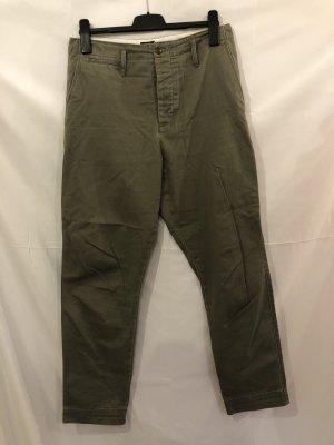 Ralph Lauren Chinos khaki-green grey cotton