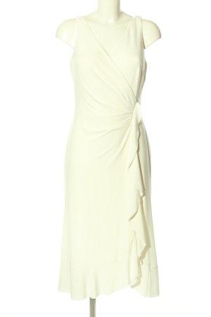 Ralph Lauren Flounce Dress white casual look