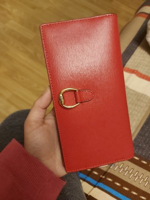 Lauren by Ralph Lauren Wallet raspberry-red