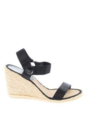 Ralph Lauren Wedges Sandaletten schwarz Casual-Look