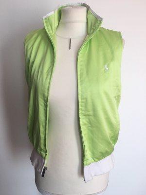 Ralph Lauren Sport Gilet de sport blanc-vert prairie