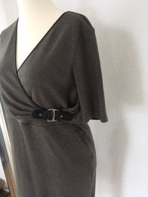 Ralph Lauren Kopertowa sukienka ciemnoszary-antracyt