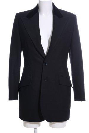 Ralph Lauren Blazer in lana nero stile professionale