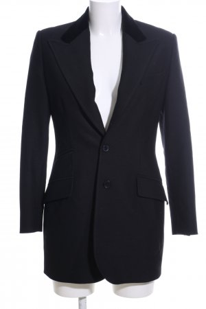 Ralph Lauren Woll-Blazer schwarz Business-Look
