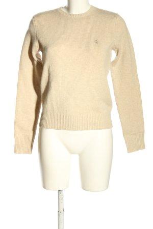 Ralph Lauren Wool Sweater cream casual look