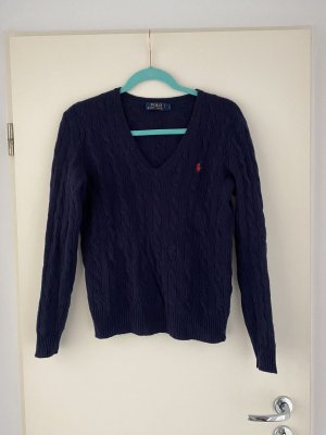Polo Ralph Lauren Cable Sweater dark blue
