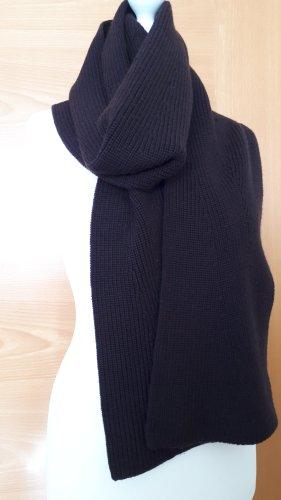 Ralph Lauren Bufanda de lana marrón oscuro
