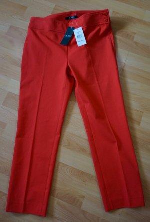 Lauren by Ralph Lauren Pantalon fuselé rouge brique-rouge