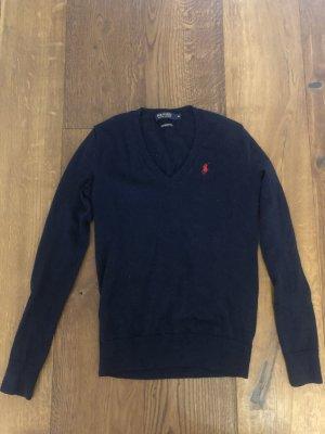 Polo Ralph Lauren Wool Sweater dark blue