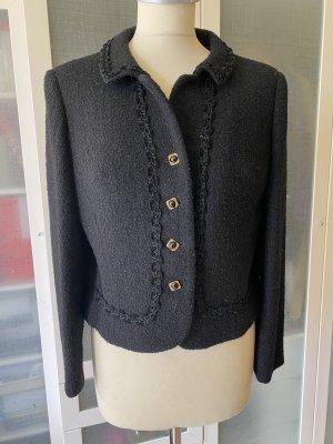 Vintage Love Blazer de lana negro