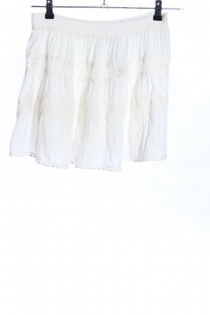 Ramy Brook Lace Skirt white elegant