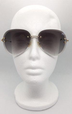 Bril goud-antraciet
