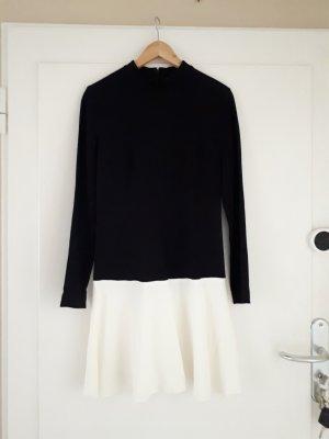 Raoul A Line Dress white-black