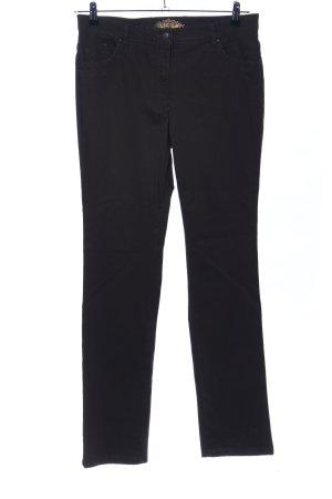 Raphaela Hoge taille jeans zwart casual uitstraling