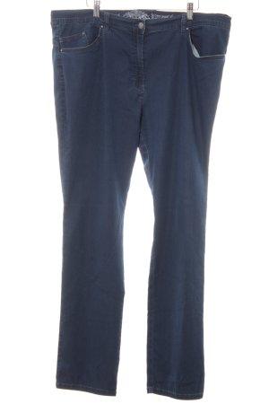 Raphaela Skinny Jeans stahlblau-silberfarben Jeans-Optik
