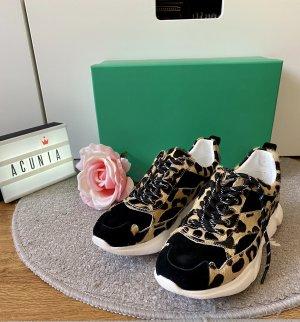Rapid Soul Sneaker Leder Leoprint Größe 37