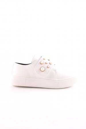 Rapidsoul Zapatillas con velcro blanco look casual