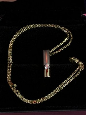 Gouden ketting wit