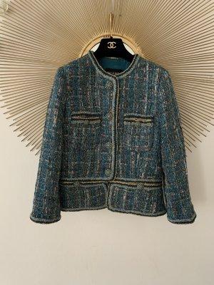 RARE AUT CHANEL 19A Paris-New York-Egypt Tweed Jacket 38
