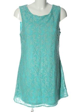 Rare london Lace Dress turquoise elegant