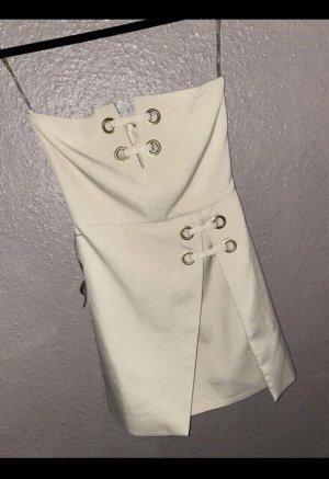 Rare london Mini Dress cream