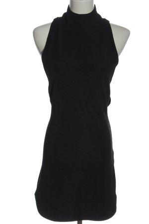Rare london Cut Out Dress black elegant