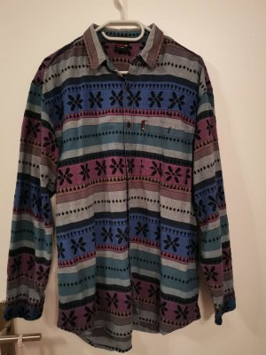 Vintage Flannel Shirt multicolored