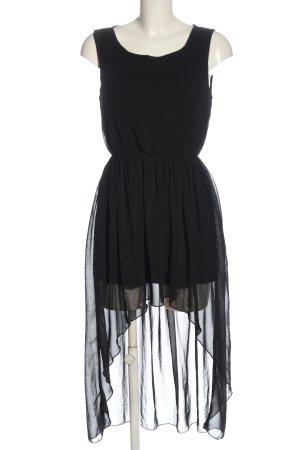 Rare Robe bas asymétrique noir élégant