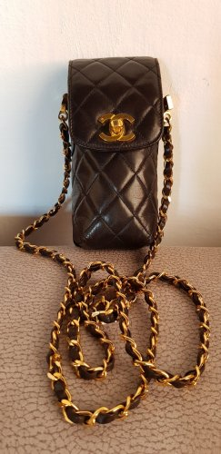 Chanel Borsetta mini marrone scuro