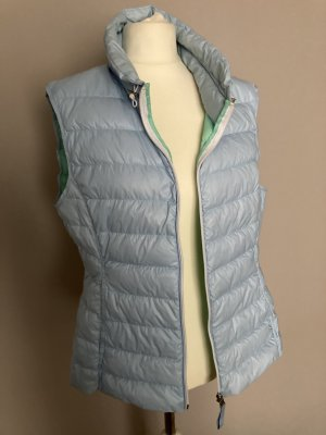 Witty Knitters Down Vest azure