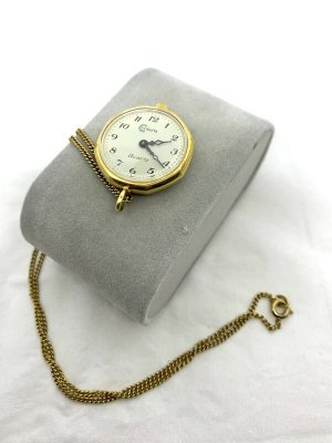 Analog Watch gold-colored-white