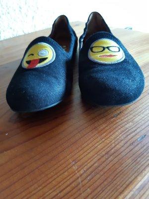 Ras Zapatos formales sin cordones negro
