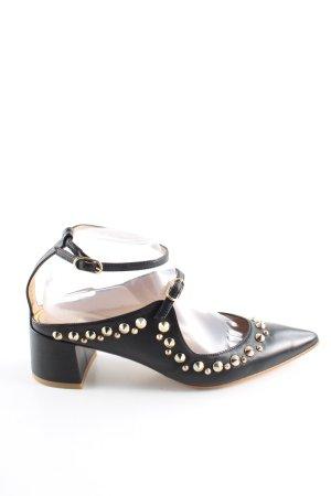 Ras Spitz-Pumps schwarz extravaganter Stil