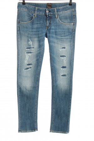 Raser Jeans slim bleu style décontracté
