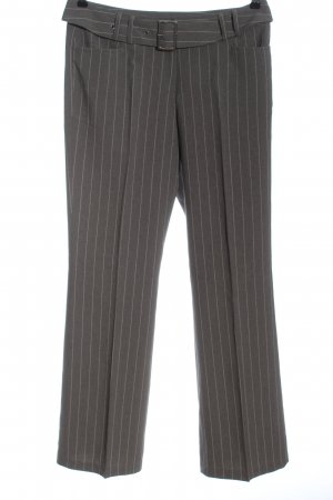 Raspberry collection Jersey Pants light grey striped pattern business style