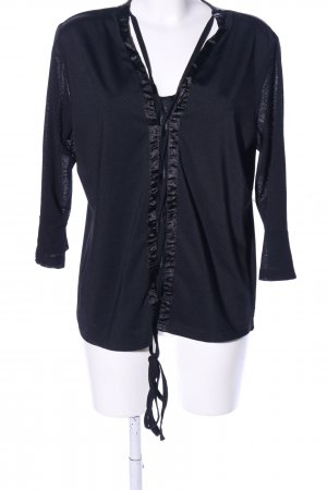 Raspberry collection V-Neck Shirt black casual look