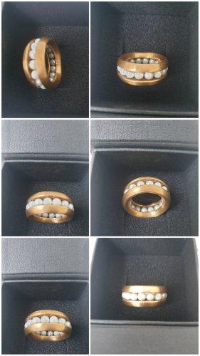 Schmuckwerk Gold Ring gold-colored